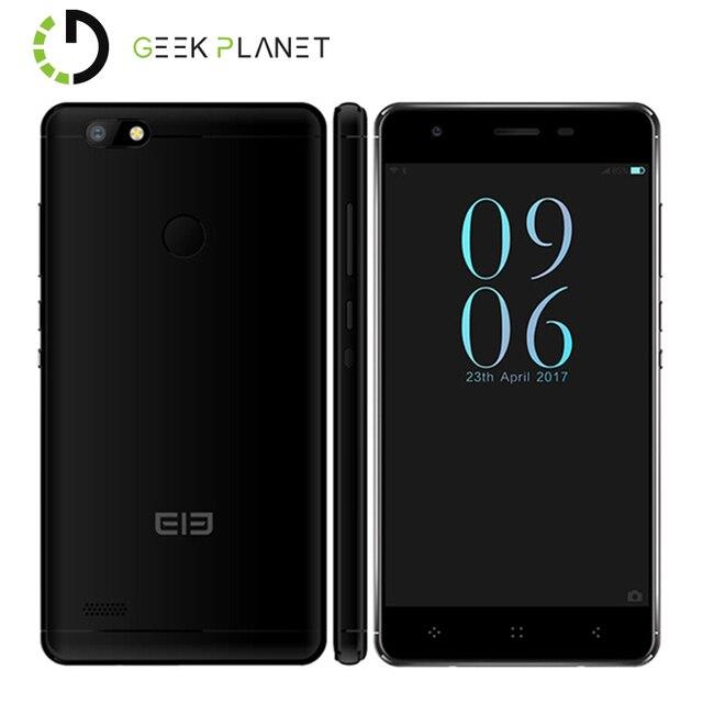 Original ELEPHONE C1 MINI Mobile Phone 1GB+16GB MTK6737 1.3GHz Quad Core 5.0 Inch 2.5D HD Screen Android 6.0 4G LTE Smartphone