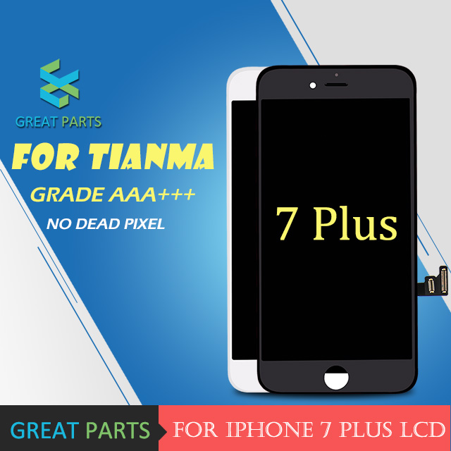 GREAT PARTS 5PCS For tianma Quality Grade AAA Screen With 3D Touch Digitizer Display Assembly Replacement