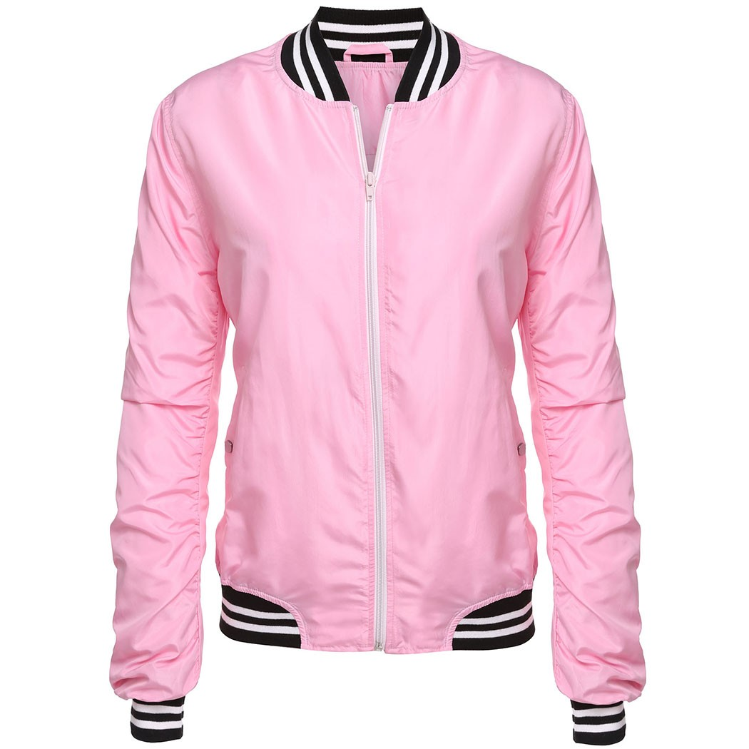 Popular Pink Womens Jacket-Buy Cheap Pink Womens Jacket lots from ...