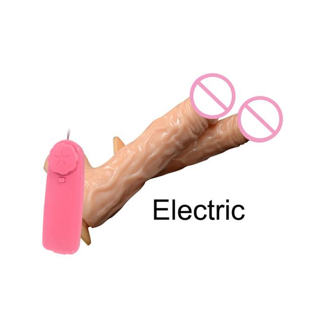 Vibrador de pene Anal realista vibrador remoto eléctrico juguetes sexuales eróticos