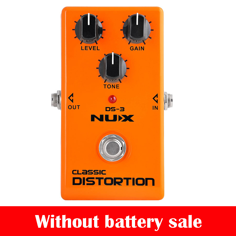 NUX DS-3 Classic Tube Distortion guitar Pedal Guitar Effect Pedal Crunch distortion Sound True Bypass guitar Guitar Accessories