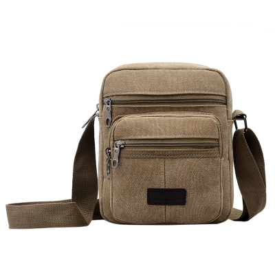 New Fashion Men Shopping Flap bags!Hot All-match Male Casual Canvas Shoulder&Handbag Top Versatile one-shoulder cross Carrier