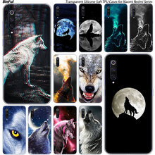 Hot Animal wolf Silicone Case For Xiaomi Pocophone