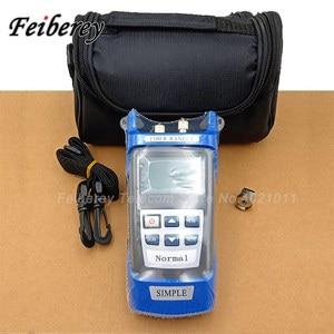 Image 4 - Handheld Simple OTDR 60km Optical Fiber Ranger 1310/1550nm SM Mini OTDR Optical Cable Breakpoint Locator Fiber Ranger with VFL