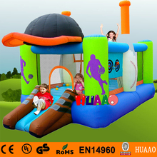 цена на Free Shipping Sports Inflatable Bouncer Yard Bouncer Inflatable Mini Bouncer with Slide Indoor Playground with Free CE blower