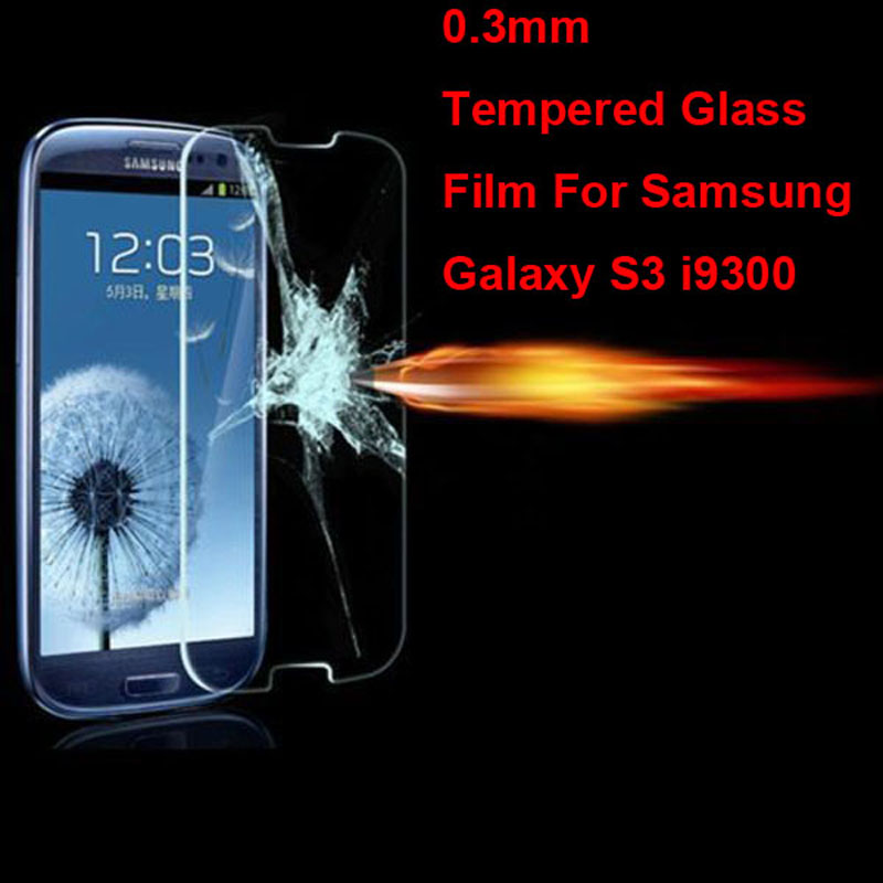 Νέο προστατευτικό οθόνης με προστατευτικό φιλμ Premium Real Tempered Glass για Samsung Galaxy S3 SIII S 3 III i9300