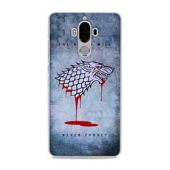 game of throne style hard transparent Phone Cover Case for Huawei Mate10 Mate10 Lite P10 P8 P9 Lite