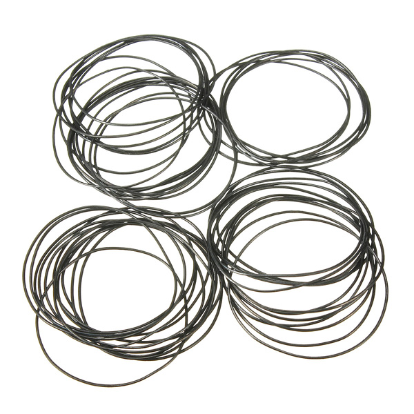 0.7mm 750pcs 16mm 30mm O Ring Rubber Seal Washers Waterproof Round ...