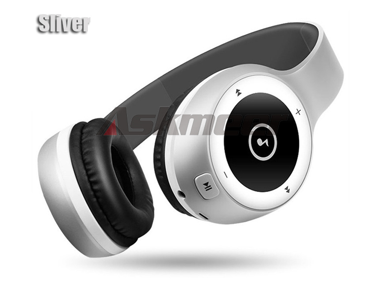 Askmeer T8 Wireless Bluetooth Headphone Foldable Stereo Earphone Headset Handsfree with Microphone Support TF Card Music Play (15)