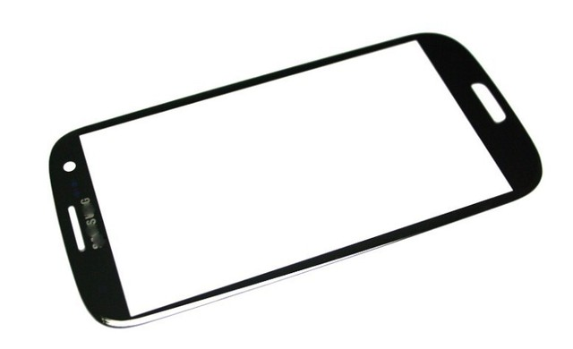black Touch Screen Outer Glass Replacement for Samsung Galaxy S3 i9300