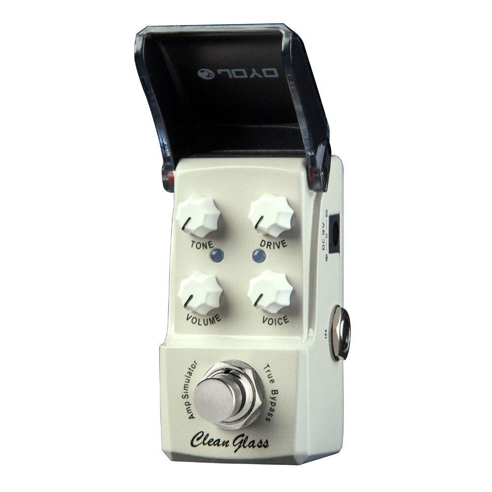 Joyo Ironman Clean Glass Amp Simulator Electric Guitar Effect Pedal True Bypass JF-307 JF307