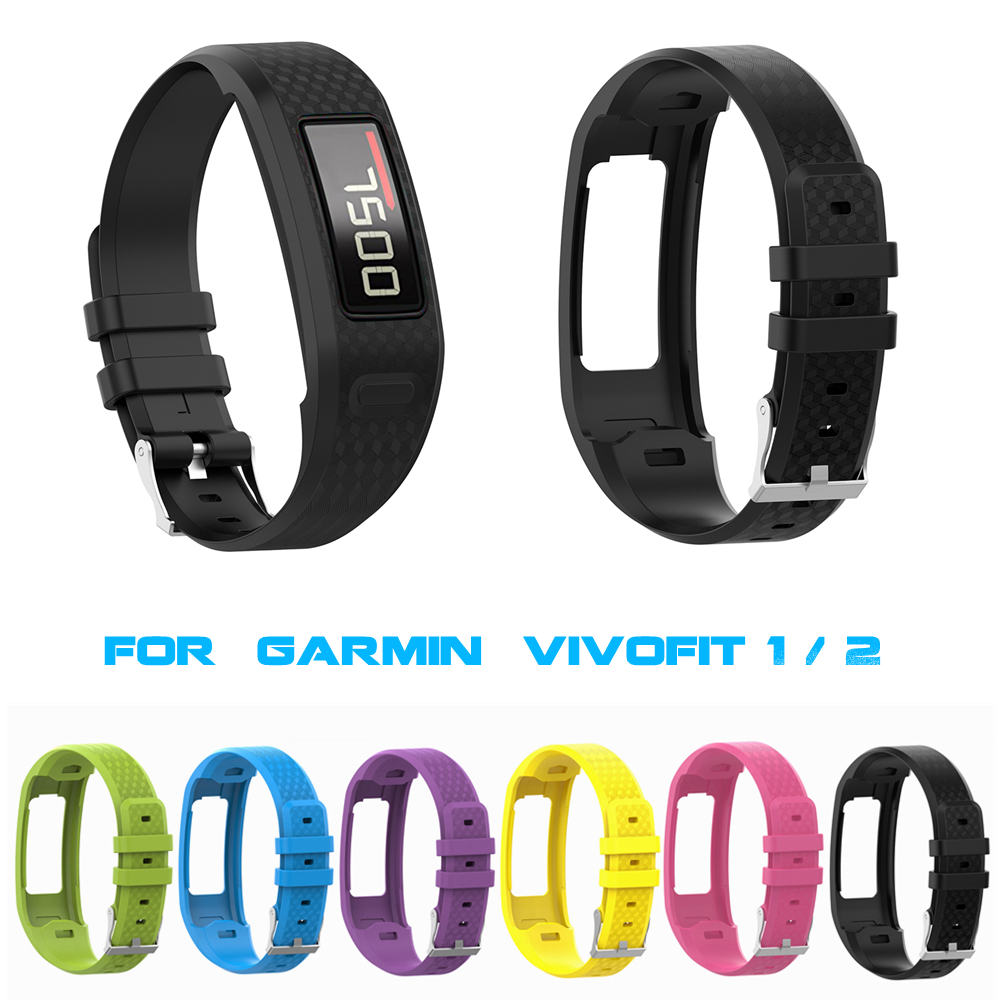 New Replacement Wrist Band Strap w// Clasp for Garmin Vivofit 1//2 Smart Bracelet