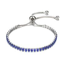 2019 New Cubic Zirconia Silver Charm Bracelet&Bangle For Women Rhinestone Bracelets Femme Bijoux Jewelry Adjustable недорого