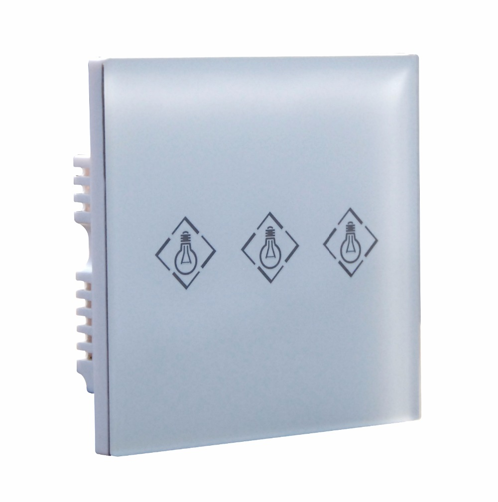 Focus PL-708R Touch Screen Wireless Electrical Switch Light Power Switch Compatible With Focus Series Alarm System