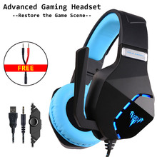 Gaming Headset Gamer USB Wired with Noise Cancelling Microphone Game Headphones Surround Stereo for PC Xbox One Laptop Computer gaming headset gamer usb wired with noise cancelling microphone game headphones surround stereo for pc xbox one laptop computer