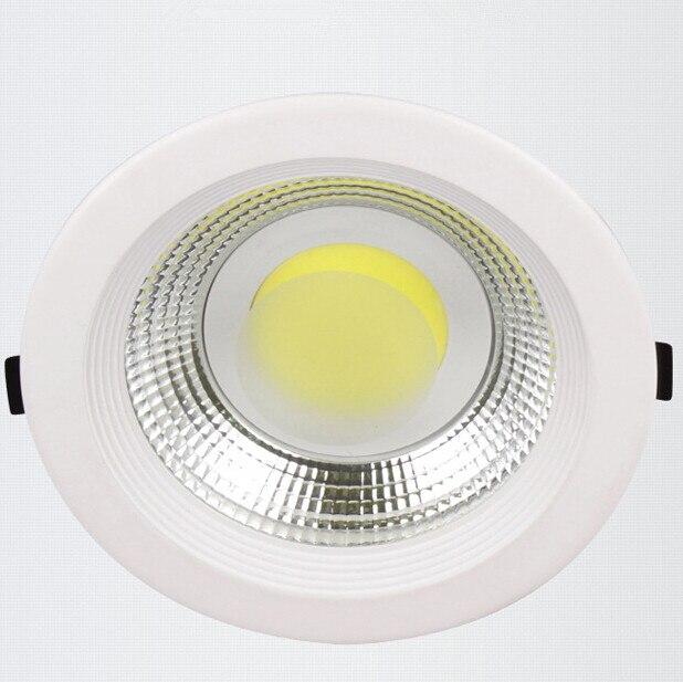 Бесплатная доставка супер яркий удара светодиодные светильники 25 Вт потолочные встраиваемые светодиодные вниз свет лампы холодной/теплый ...