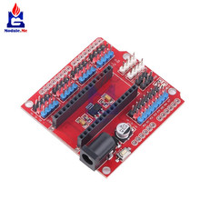 3.3V Expansion Prototype Shield I/O IO Extension Board Module for Arduino Nano V3.0 3.0 IO IIC I2C Interface DC Power Supply PWM