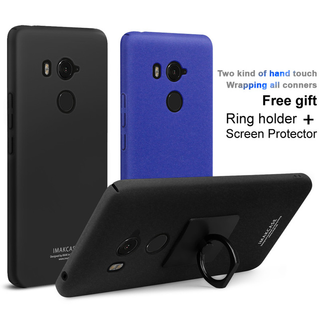 promo code 16d2d 1a3d0 US $5.74 10% OFF|For HTC U11 Eyes case HTC Harmony Case Imak cowboy cases  and screen protector with stand matte Back Cover Finger Ring Holder -in ...