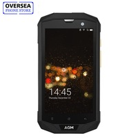 AGM A8 Smartphone 4GB RAM 64GB ROM 5.0 Inches HD Waterproof Phone IP68 Qualcomm MSM8916 Quad Core 13.0MP 4050mAh NFC OTG Phone