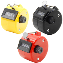 Number Manual Mechanical Clicking Hand Counter for Sports Running Kicking Golf