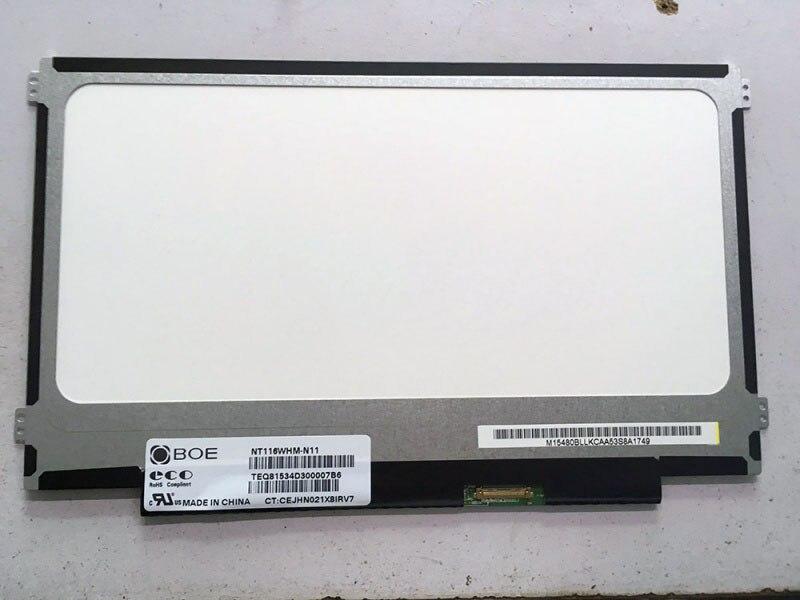 For BOE NT116WHM N11 NT116WHM N11 NT116WHM N21 fit N116BGE EA2 N116BGE E32 LED Screen LCD
