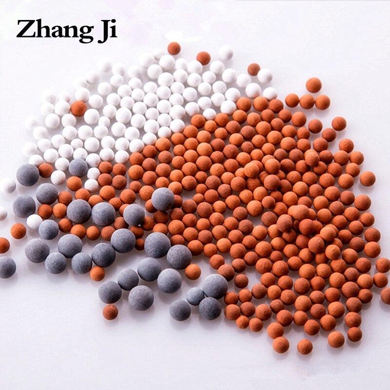 Сменные шарики Zhangji, спа-насадка для душа, фильтр для воды, очистка энергии, анионы, минерализованные керамические шарики с отрицательными и...