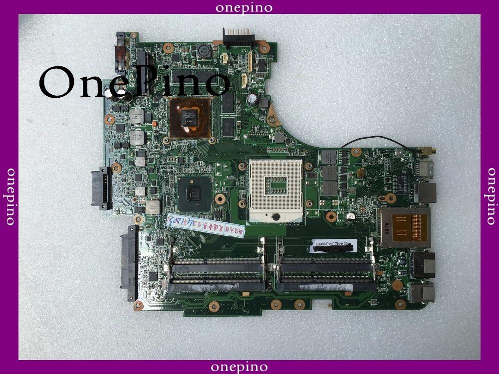 N53JG motherboard support i7 fit for N53JG REV 2.2 laptop motherboard 1GB DDR3 4 ram slot fully tested working цены