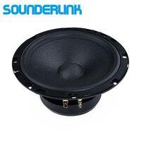 1 PC Sounderlink Top end high power 6.5 inch car subwoofer speaker Audio Bass raw driver loudspeaker Diy