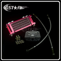 Oil Cooling Cooler Radiator For 50 70 90 110 Horizontal Engine Chinese Made Dirt Pit Monkey