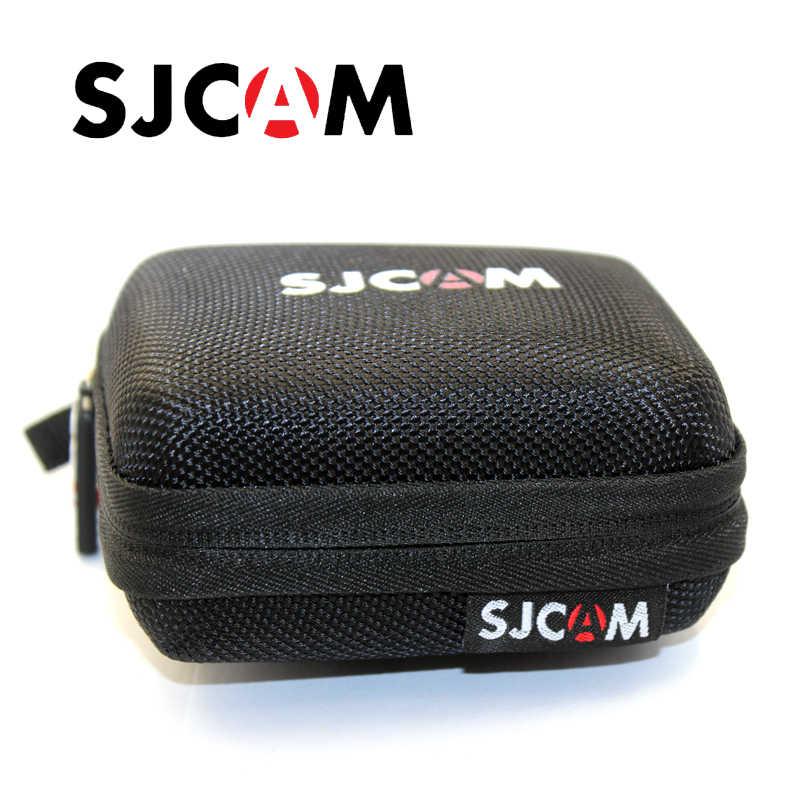 Оригинальный черный Малые/Средние/крупнейших Размеры сумка для хранения для спортивной экшн-камеры SJCAM SJ4000 SJ5000 SJ6 SJ7 M20 Камера аксессуар