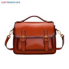 Luxury Womens Shoulder Bags Designer Ladies Handbags Brown High Quality Female Messenger Tote For Women Genuine Leather