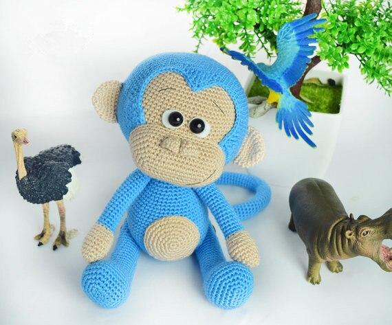 Naughty monkey amigurumi pattern - Amigurumi Today | 473x570