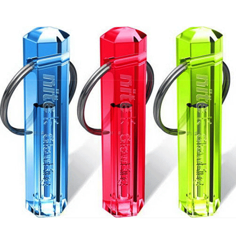 Tritium Gas Lamp Key Ring Automatic Glow Light Self Luminous Life Saving Emergency Lights For Outdoor Safety And Survival Tool