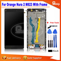 Great Quality New arrival LCD Display+Digitizer Touch Screen Assembly For Orange Nura 2 M823 With Frame Original Tested