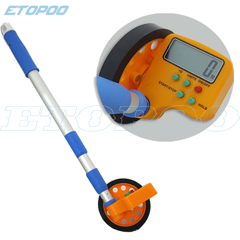 Digital Distance Measuring Instruments : M digital distance measuring wheel surveyor walking