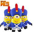 2015 new Despicable Me3 creative band uniform yellow doll thief dad plush toys free shipping
