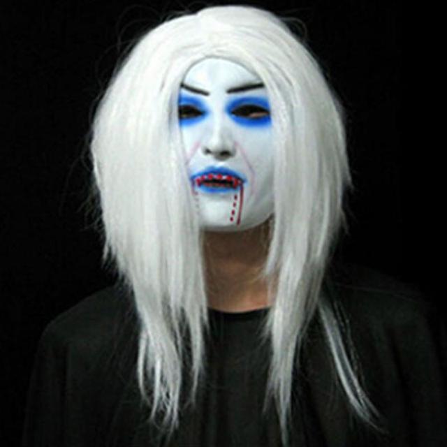Aliexpress.com : Buy Halloween Mask Horror Half Grudge Latex ...