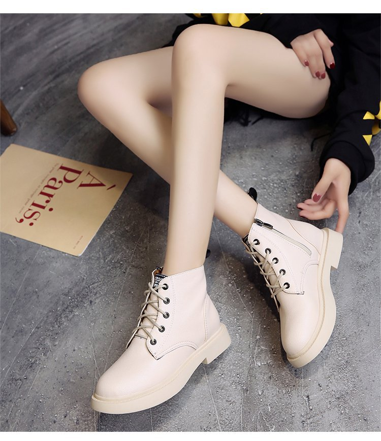 New Genuine Leather women boots winter whit fur Waterproof shock absorption warm breathable wear-resistant non-slip women shoes (11)