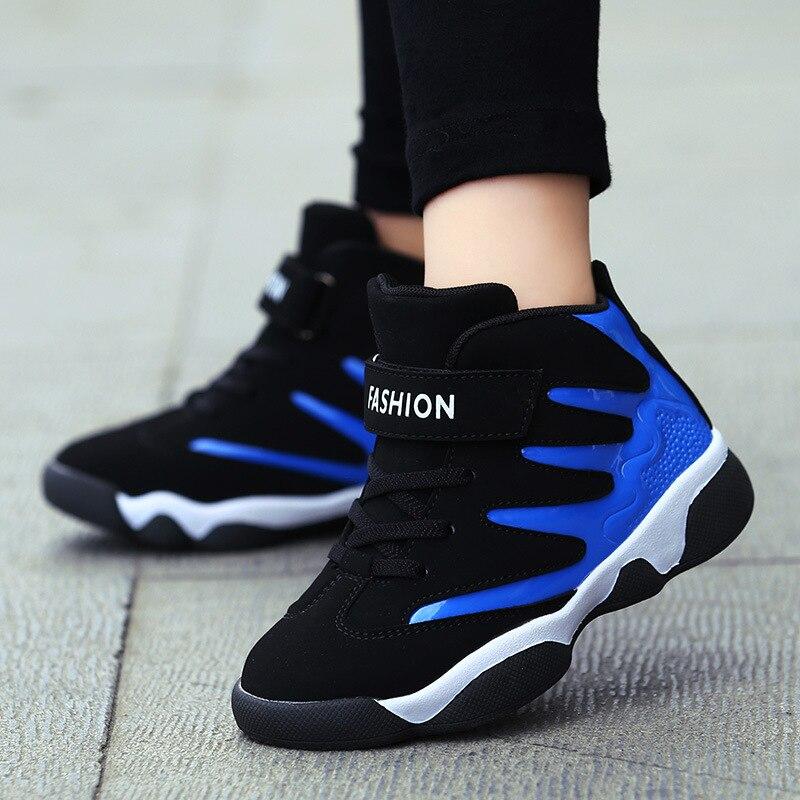 a1485f7e7274 Basketball Schuhe Kinder 2018 Neue Junge Gleitschutz Jugend Sportschuhe  Billig Outdoor Turnschuhe China Verkauf