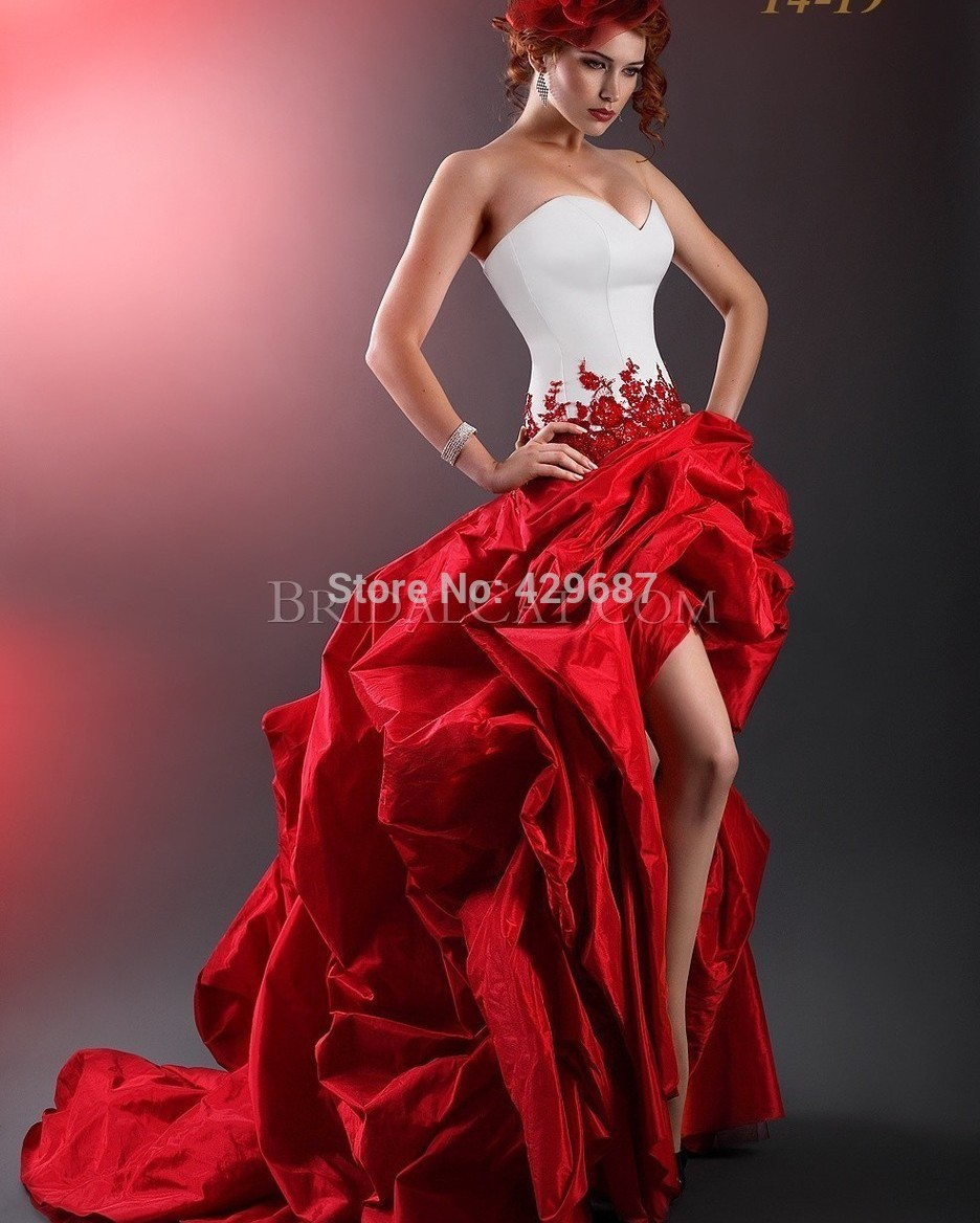 victorian gothic wedding dresses uk red gothic wedding dress Goth Wedding Dress Robweberpography Com