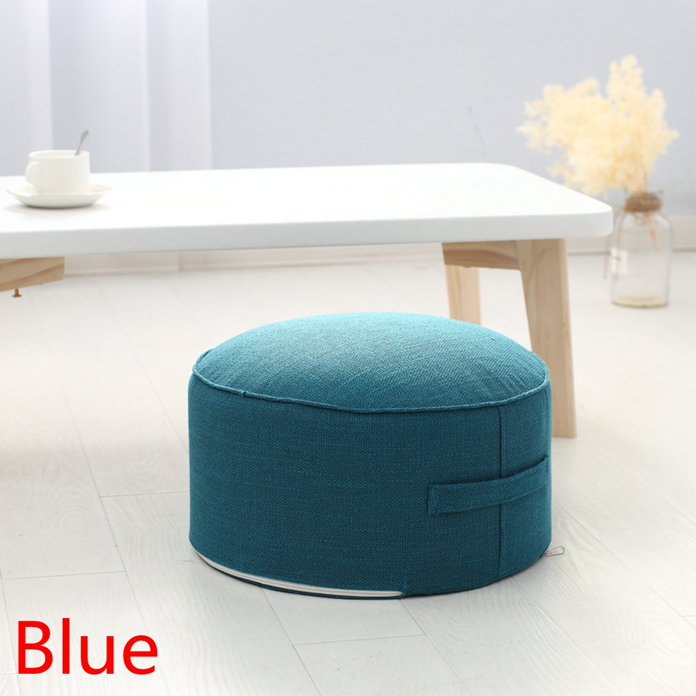 HTB1d4K4bLc3T1VjSZPfq6AWHXXas New Design Round High Strength Sponge Seat Cushion Tatami Cushion Meditation Yoga Round Mat Chair Cushions Hap-deer
