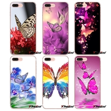 Colorful Butterfly Wallpaper Soft Case For HTC One M7 M8 A9 M9 M10 E9 Plus Desire