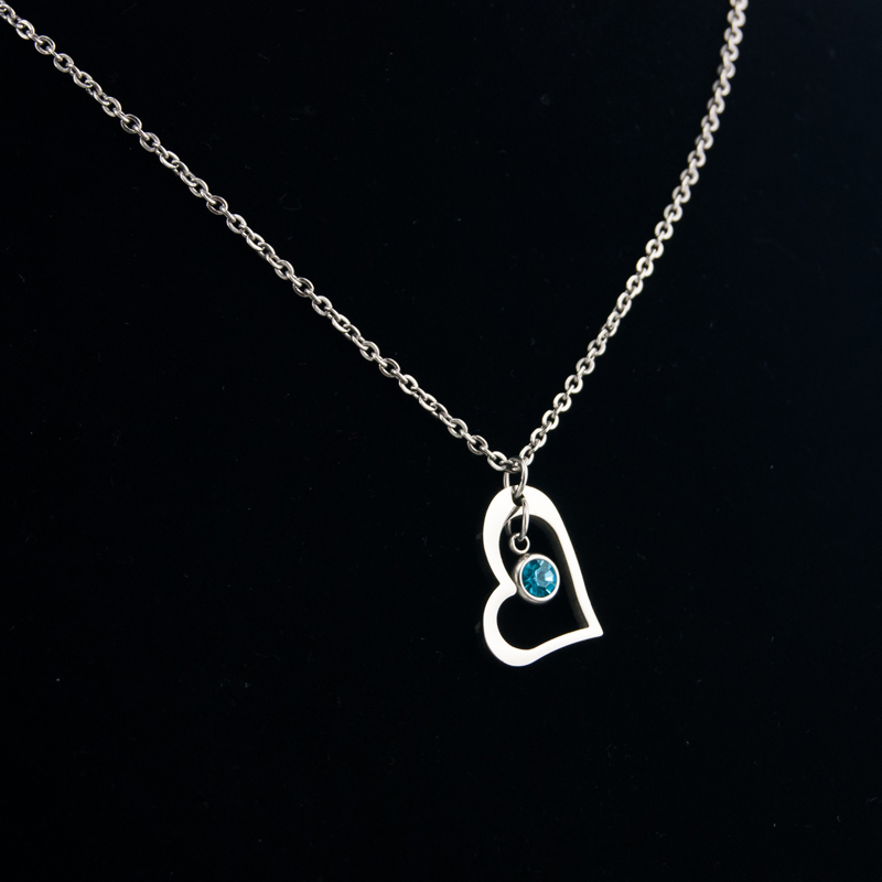 Risul-Female-Jewelry-birth-stone-in-Heart-Charm-Necklace-Rolo-chain-Stainless-steel-best-friend-beautiful (5)