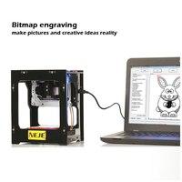 1500mW Mini DIY CNC Laser Engraving Machine Wireless Bluetooth 4 0 Print Engraver For IOS Android