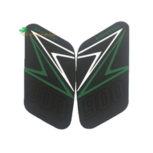 Motorcycle Tank Traction Pad Side Gas Knee Grip Protector Anti Slip Protective For Kawasaki Z900 2016 2017