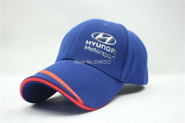 Prix pour Bleu couleurs nouvelle F1 course Hyundai motorsport baseball chapeau brodé soleil professionnel voiture chapeau aps