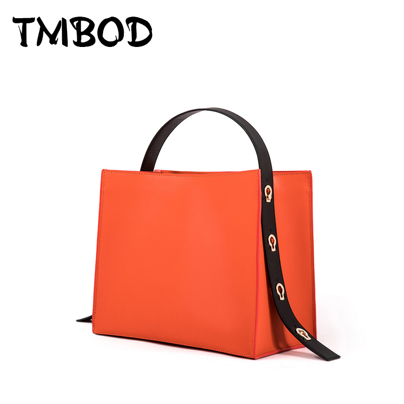 NEW 2017 Casual Tote Fashion Design Lady Panelled Bag Women Split Leather Handbags Ladies Shoulder Bags For Female an874 aosbos fashion portable insulated canvas lunch bag thermal food picnic lunch bags for women kids men cooler lunch box bag tote