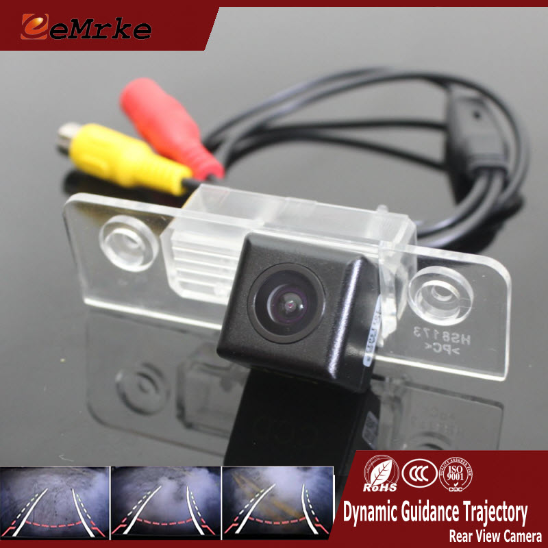 ФОТО EEMRKE Car Camera For Ford Fusion 2002-2012 Rear Camera Assistance Dynamic Guidance Trajectory Tracks Camera