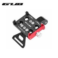 GUB G-99 aluminiowy uchwyt na telefon rowerowy do 3.5-6.2 cala Smartphone regulowane podparcie latarka kamery uchwyt do montażu