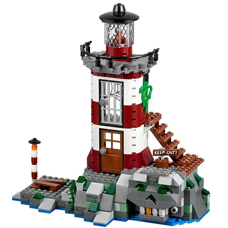 Scooby Doo Haunted Lighthouse 75903 Building Block Model Figure Model Educational Toys For Children Compatible  BELA 10431